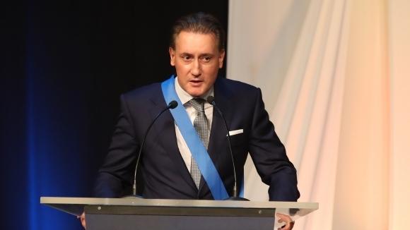 Кирил Домусчиев с награда за принос към спорта
