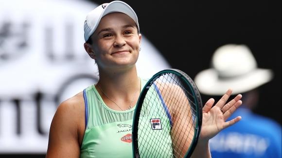 Ашли Барти премина през първата седмица на Australian Open