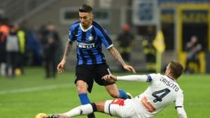 Юнайтед на свой ред си хареса играч на Интер