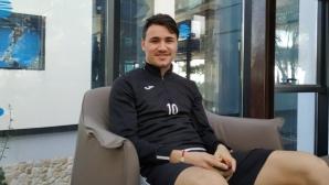 Янис Карабельов: Готов съм за следващата крачка в кариерата ми (видео)