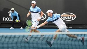 Братята Брайън стартираха с победа в последното си участие на Australian Open