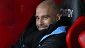 Гуардиола доволен от завръщането на Лапорт