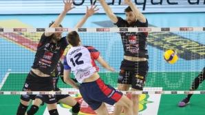 Виктор Йосифов и Монца не можаха да спрат шампиона Лубе в Купата на Италия