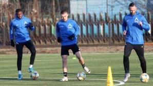Левски направи последната си тренировка в Сандански