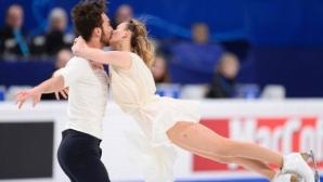 Пападакис и Сизерон поведоха в класирането при танцовите двойки, българите заеха 25-о място
