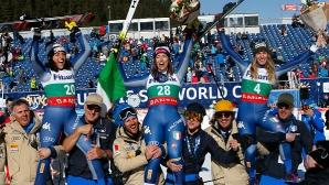 Щастливата Куртони: Чувството е невероятно, това е първата ми победа