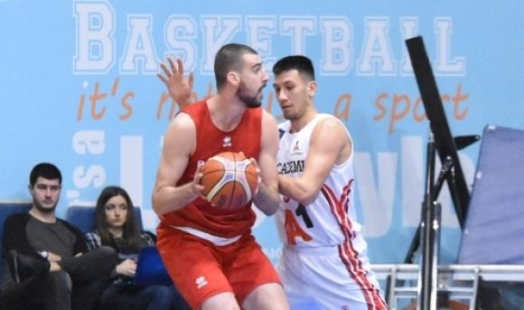 Националите по баскетбол победиха Академик (София) в контрола