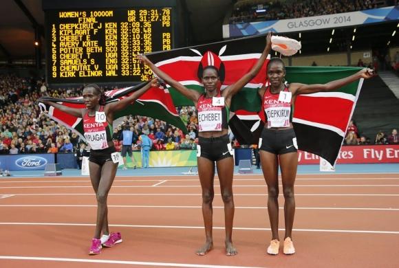 Кенийските спортисти на задължителен допинг тест преди заминаването си за Токио