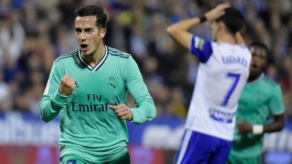 Реал Мадрид наниза 4 гола в Сарагоса (видео)