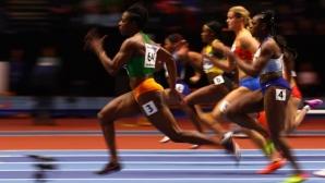 Две световни шампионки си дават среща в спринта на 60 метра в Глазгоу