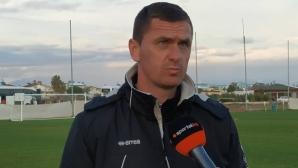 Юруков: Играем по-добре с всеки изминал мач