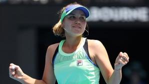 София Кенин е на 1/2-финал в Мелбърн без мач срещу поставена тенисистка