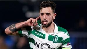 Ман Юнайтед обяви постигната договорка за Бруно Фернандеш