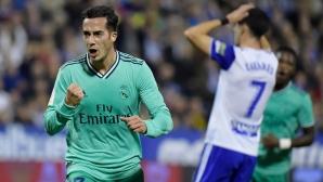 Хамес и Йович титуляри за Реал Мадрид, вижте състава