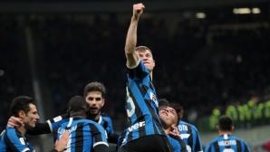 Интер този път не сгреши срещу Фиорентина и продължава да мечтае за Купата (видео)