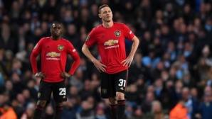 Ман Юнайтед уплаши, но не успя да спре Ман Сити по пътя към финала (видео)
