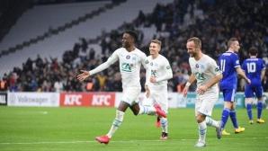 Марсилия преодоля Страсбург за Купата