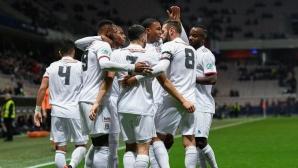 Дузпа в последната минута класира Лион на 1/4-финалите за Купата на Франция (видео)