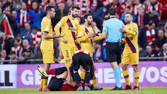 И Барса излетя от Ла Копа след гол в 93-ата минута (видео)