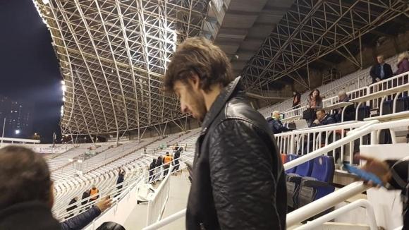 Кристиан Димитров изгледа победата на Хайдук, подписва в понеделник