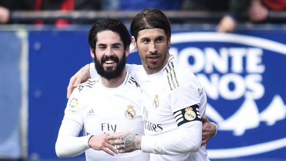 Реал Мадрид направи обрат в Памплона за труден и важен успех (видео + галерия)