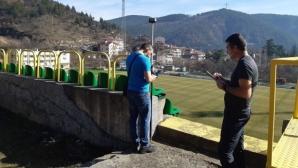 Пирин дава начало на проекта за стадиона