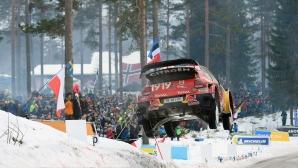 Рали Швеция приема WRC въпреки меката зима