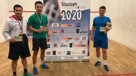 Над 90 състезатели дадоха старт на 2020 година в Squash League 4You