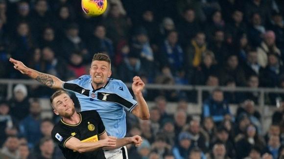 """Лацио обърна Интер и завърза възела в Серия """"А"""" (видео)"""