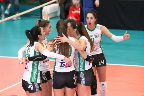 Берое с лесна победа над Раковски в НВЛ-жени