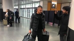 Божинов пристигна в Италия, но не даде категоричен отговор на големия въпрос (видео)