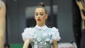 """Мария Ангелова от клуб Етър води в многобоя при жените на турнира """"Олимпия 74"""""""