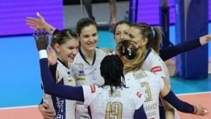 Мира Тодорова с 12 точки (6 блокади), Кан с победа №17