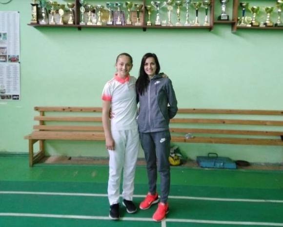 Калояна Налбантова завоюва бронз на Европейското по бадминтон за девойки до 15 години