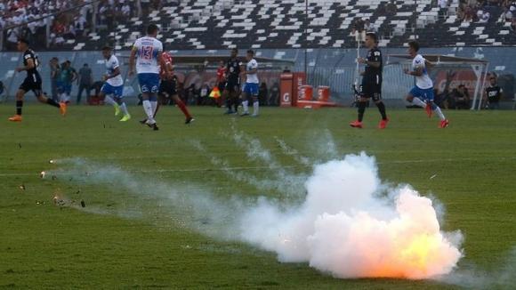 Мач от чилийското футболно първенство беше прекратен