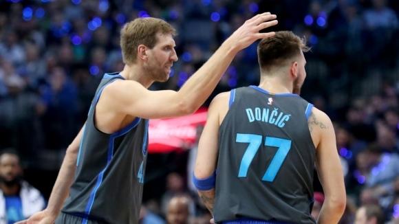 Новицки се надява Дончич да го повтори