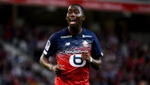 Треньорът на Лил призна, че интересът от Манчестър Юнайтед се отразява на Сумаре