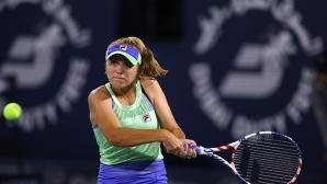 И шампионката на Australian Open отпадна рано в Дубай