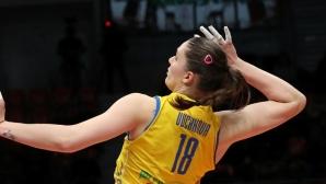 Христина Вучкова с най-ефикасен сервис в Шампионската лига!