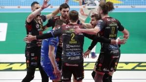 Лубе отново на финал за Купата на Италия (видео + снимки)