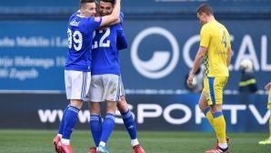 Боби Цонев и компания измъчиха Динамо в Загреб (видео)