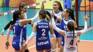 Левски измъкна победа над Берое в НВЛ-жени
