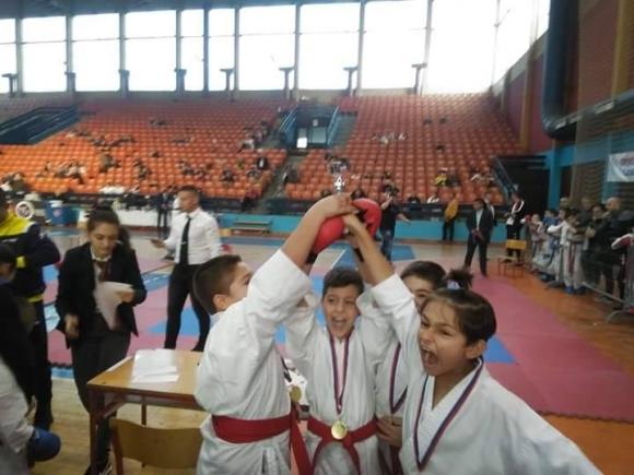 8 медала за каратеките на Спартак-Плевен от турнир в Сърбия