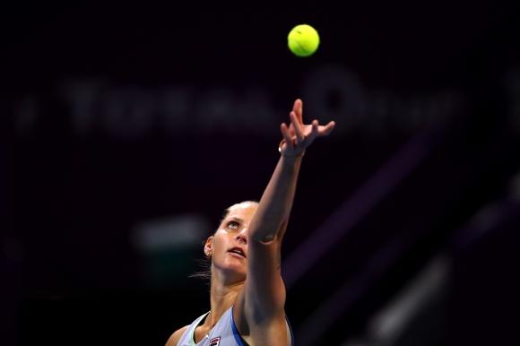 Шампионката от 2017 година Каролина Плишкова отпадна във втория кръг в Доха