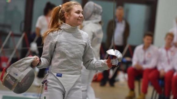 Йоана Илиева стана европейска шампионка на сабя за девойки