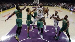 Лос Анджелис Лейкърс прекърши Бостън в края
