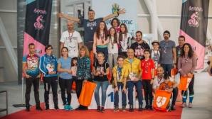 В Бургас се проведе първият масов триатлон на закрито