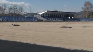 """""""Арена Арда"""" с нова трева, втори терен, ново осветление и най-модерно табло (видео)"""