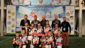 Арена Ямбол шампион при набор 2011 на Atrim Super Stars Cup