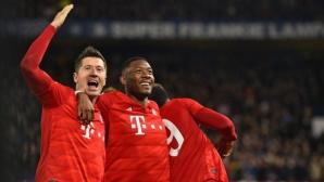 Челси 0:0 Байерн, сериозен пропуск на Коман